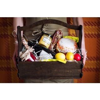 Besondere Geschenkideen aus Uelzen: Geschenkkorb mit Delikatessen