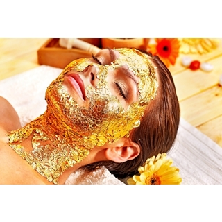 Besondere Geschenkideen aus Lüneburg: Goldmasken Gesichtsbehandlung