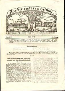 Besondere Geschenkideen aus Elmshorn: Alte Beilagen der Elmshorner Zeitung