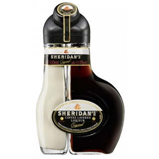 Besondere Geschenkideen aus Dortmund: Sheridans Coffee Layered Liqueur