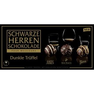 Besondere Geschenkideen aus Dortmund: Schwarze Herren Schokolade