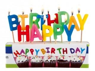 Besondere Geschenkideen aus der Region: Geburtstagskerzen