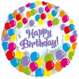Besondere Geschenkideen aus der Region: Heliumballon BIRTHDAY
