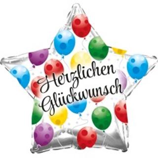 Besondere Geschenkideen aus der Region: Heliumballon GLÜCKWUNSCH