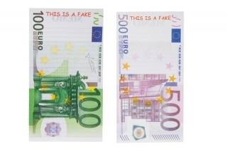 Besondere Geschenkideen aus der Region: Geldschein-Notizblock