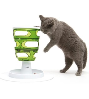 Besondere Geschenkideen aus der Region: Futterbaum für Katzen