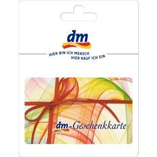 Geschenkgutscheine aus der Region: Geschenkkarte von dm