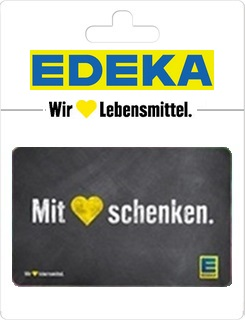 Geschenkgutscheine aus der Region: Geschenkkarte von Edeka