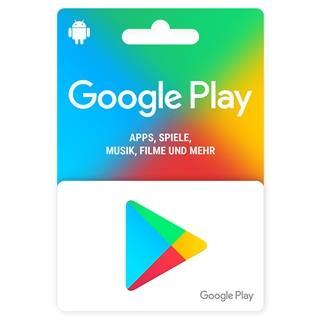 Besondere Geschenkideen aus der Region: Geschenkkarte für den Google Play Store