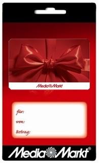 Besondere Geschenkideen aus Wuppertal: Geschenkkarte von MediaMarkt
