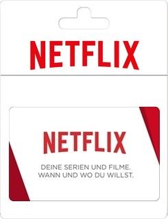 Besondere Geschenkideen aus der Region: Geschenkkarte von Netflix