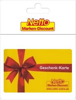 Geschenkgutscheine aus der Region: Geschenkkarte von Netto