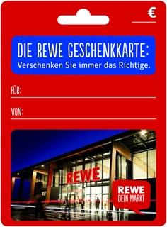Geschenkgutscheine aus der Region: Geschenkkarte von Rewe
