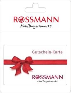 Geschenkgutscheine aus der Region: Geschenkkarte von Rossmann