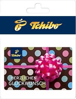 Geschenkgutscheine aus der Region: Geschenkkarte von Tchibo
