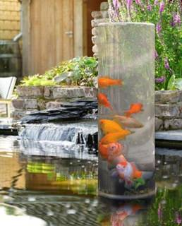 Besondere Geschenkideen in Ihrer Nähe: Fischturm für den Teich