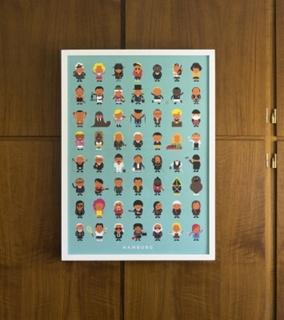 Besondere Geschenkideen aus Hamburg: Print