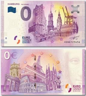 Besondere Geschenkideen aus Hamburg: 0 Euro Schein