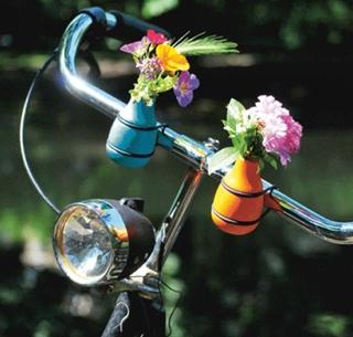 Besondere Geschenkideen aus Hamburg: Fahrradvase