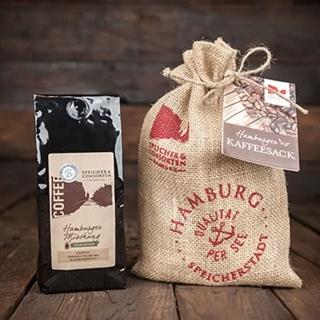 Besondere Geschenkideen aus Hamburg: Hamburger Kaffeesack