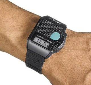 Besondere Geschenkideen in Ihrer Nähe: Sprechende-Armbanduhr (deutsch)