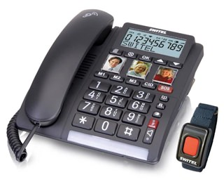 Besondere Geschenkideen in Ihrer Nähe: Komforttelefon mit Notrufsender