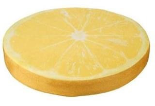 Besondere Geschenkideen in Ihrer Nähe: Sitzkissen - Zitrone