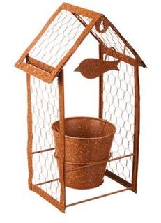 Besondere Geschenkideen in Ihrer Nähe: Blumentopf - Vogelhaus