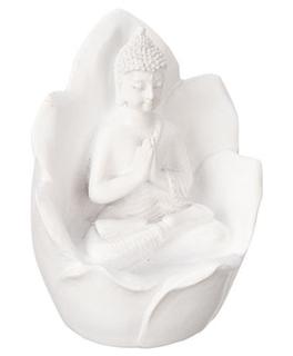 Besondere Geschenkideen in Ihrer Nähe: Buddha Dekofigur in Lotusblüte