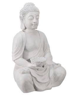 Besondere Geschenkideen in Ihrer Nähe: Buddhafigur mit Kerzenhalter