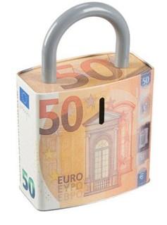 Besondere Geschenkideen in Ihrer Nähe: Spardose - 50-Euro-Schein