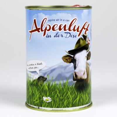 Besondere Geschenkideen aus Hannover: Alpenluft in der Dose