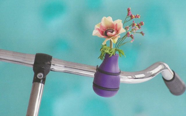 Besondere Geschenkideen aus Hannover: Fahrradlenkervase