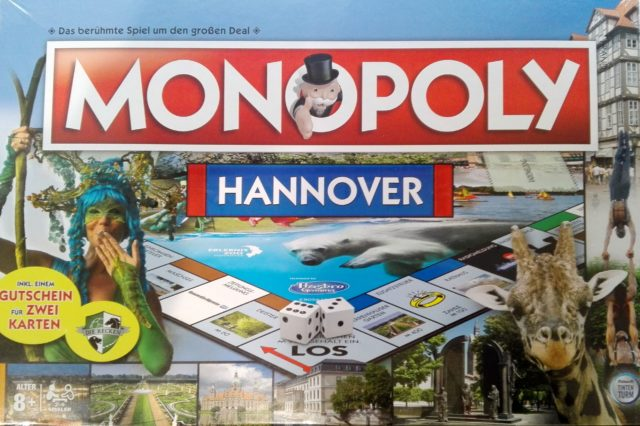 Besondere Geschenkideen aus Hannover: Monopoly Hannover-Edition