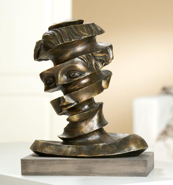 Besondere Geschenkideen aus Hannover: Skulptur Gesichtsband