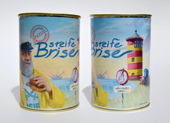 Besondere Geschenkideen aus Hannover: Steife Brise - Nordseeluft in der Dose