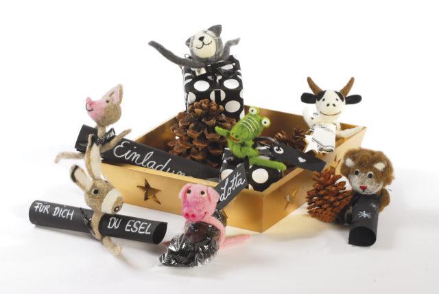 Besondere Geschenkideen aus Hannover: Verpackungskünstler - Filzige Tierwelt