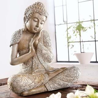 Geschenkideen aus der Region: Living Deko-Figur Buddha