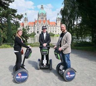 Besondere Geschenkideen aus Hannover: Segway Tour durch Hannover