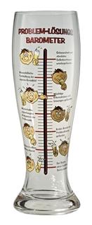 Besondere Geschenkideen in Ihrer Nähe: Bierglas mit Problem-Lösungs-Barometer