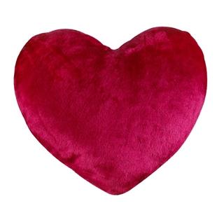Besondere Geschenkideen in Ihrer Nähe: Flauschiges Herzkissen