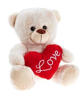 Besondere Geschenkideen in Ihrer Nähe: Kuscheltier, Teddybär mit Herz