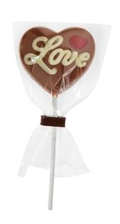 Besondere Geschenkideen in Ihrer Nähe: Leckerer Schoko-Lolly mit Liebesbotschaft