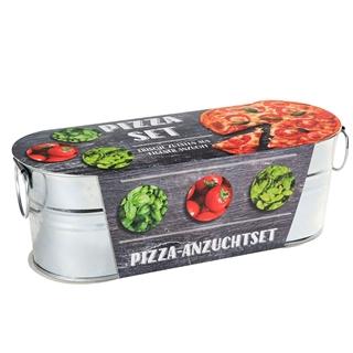 Besondere Geschenkideen in Ihrer Nähe: Pizzagarten-Pflanzset in Zinkwanne