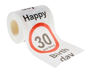 Besondere Geschenkideen in Ihrer Nähe: Toilettenpapier für den 30. Geburtstag