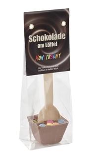 Besondere Geschenkideen in Ihrer Nähe: Trinkschokolade am Löffel