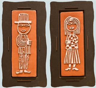 Besondere Geschenkideen in Uelzen: Hundertwasser Keramikfliese