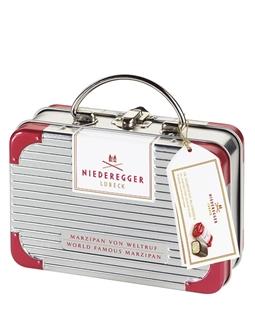 Besondere Geschenkideen in Ihrer Nähe: Niederegger Reisekoffer Marzipan-Geschenkset