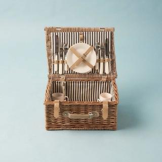 Geschenkideen aus der Region: Picknickkorb für 2 Personen