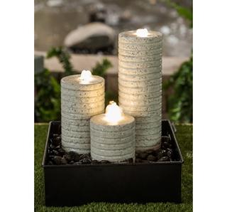 Besondere Geschenkideen in Ihrer Nähe: Steinbrunnen Set Nomos
